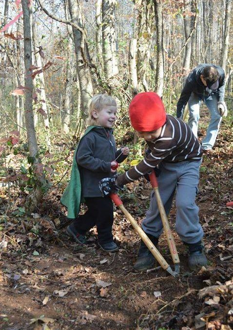 Trail Work Day – April 4, 2015