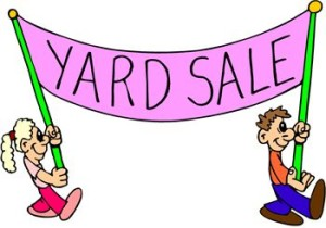Yard Sale - two characters