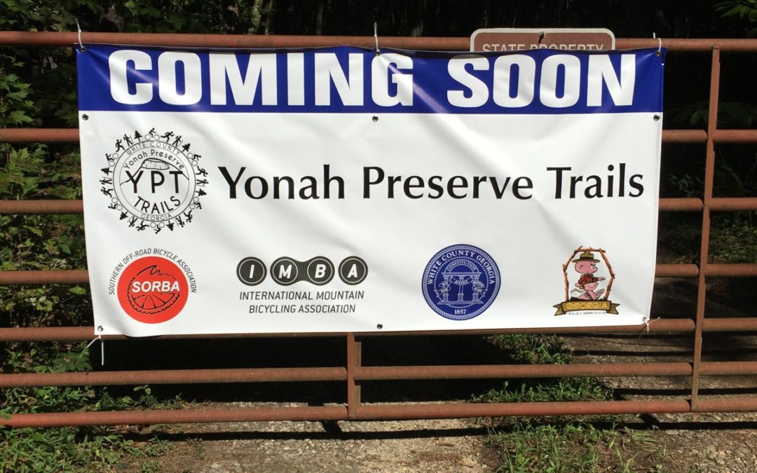 Coming Soon!  Yonah Preserve Trails progress update