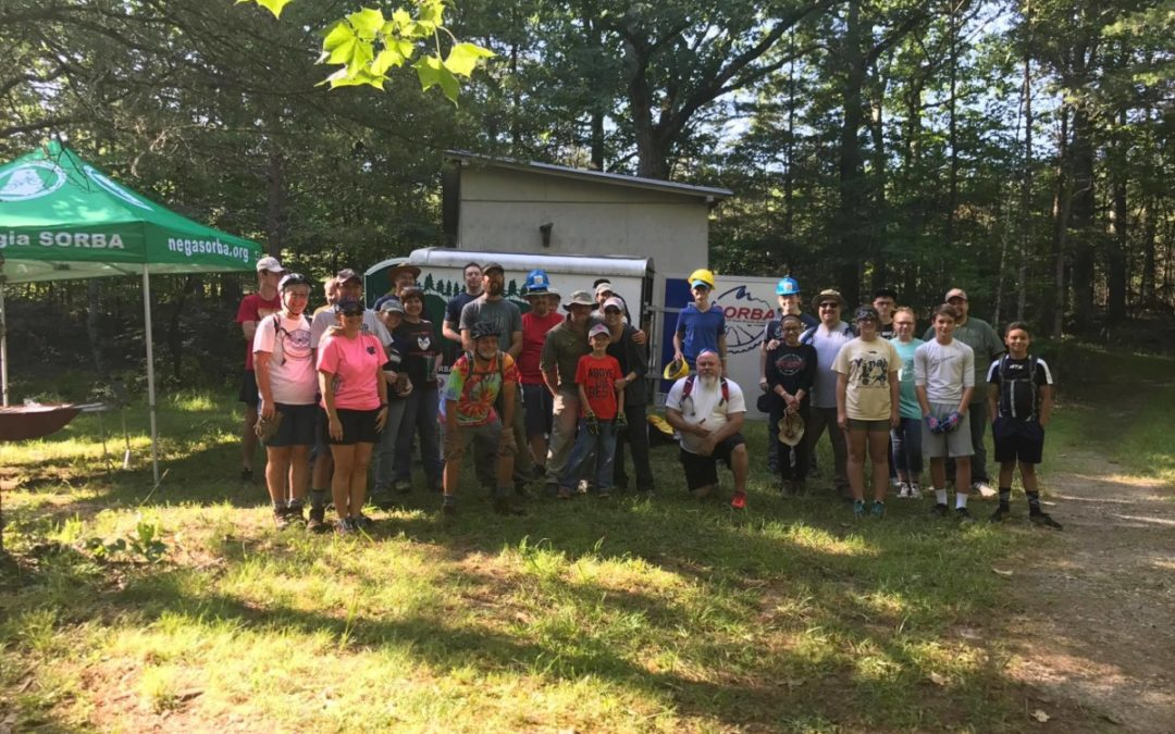 Yonah Preserve Trails Work Party, October 21, 2017