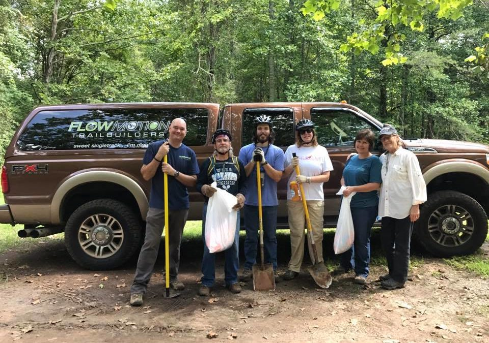 Work Party at Yonah Preserve Trails, November 04, 2017
